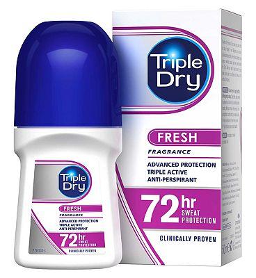Triple Dry Anti-Perspirant Roll-On Fresh Fragrance 50ml