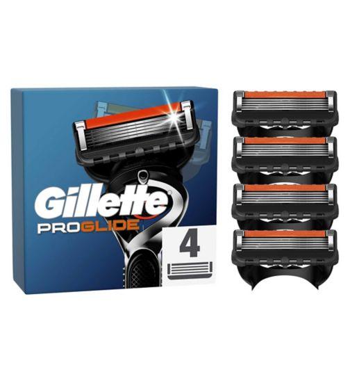 Gillette Fusion Proglide Men's Razor Blades 4 count