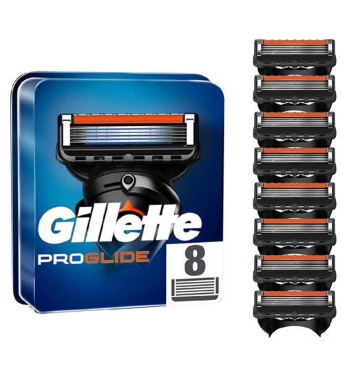 Gillette Fusion ProGlide Manual Razor Blades - 8 Pack