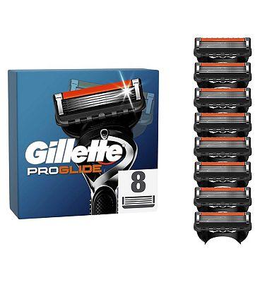 Gillette Fusion ProGlide Manual Razor Blades  8 Pack