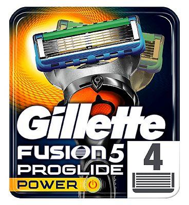Gillette Fusion ProGlide Power Razor Blades 4 Cartridges Pack