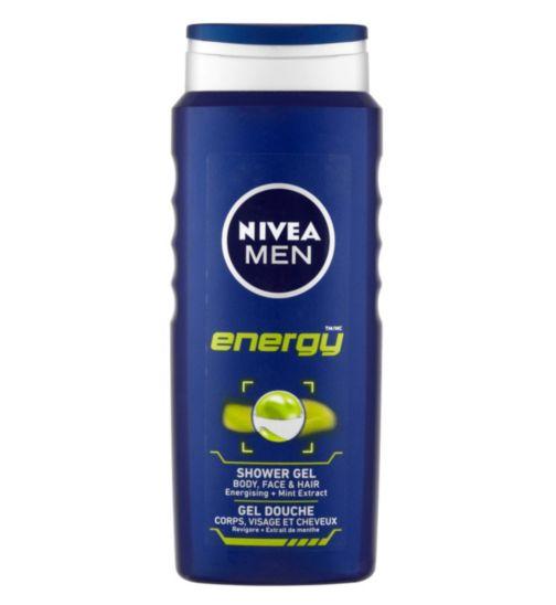 NIVEA MEN Energy Shower Gel 500ml