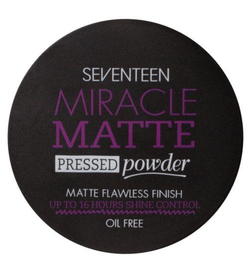 SEVENTEEN Miracle Matte Pressed Powder