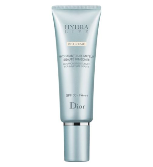 DIOR HYDRA LIFE BB Cream Enhancing Sunscreen Moisturizer for Immediate Beauty SPF 30 50ml