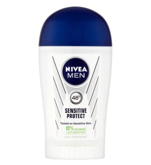 NIVEA MEN Sensitive Protect 48h Anti-Perspirant Deodorant Stick 40ml