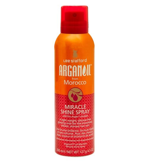 Lee Stafford ARGANOIL from Morroco Miracle Shine Spray 200ml