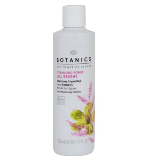 Botanics All Bright Cleansing Toner 250ml