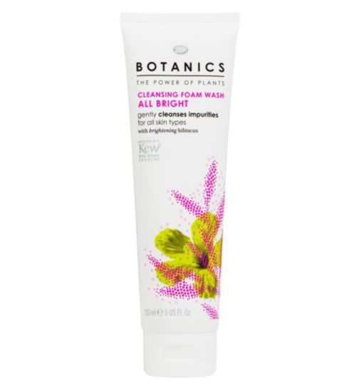 Botanics All Bright Cleansing Foam Wash 150ml