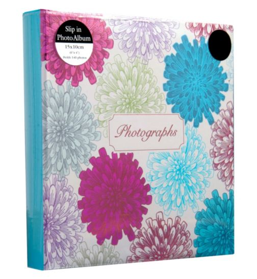 Multi flower Burst Photo Album 6x4 - 140 photos