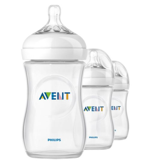 Philips AVENT Natural Bottle 260ml x 3