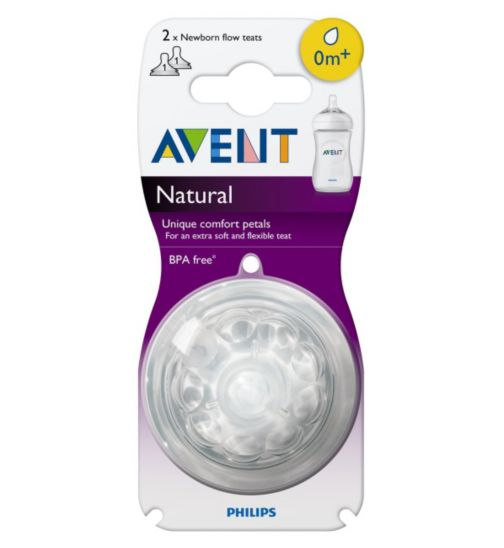 Philips AVENT Newborn Flow Teat 0m+