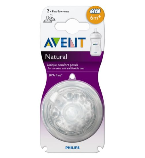 Philips AVENT Fast Flow Teat 6months+