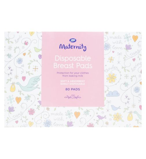 Boots Maternity Disposable Breast Pads - 1 x 80 Pack