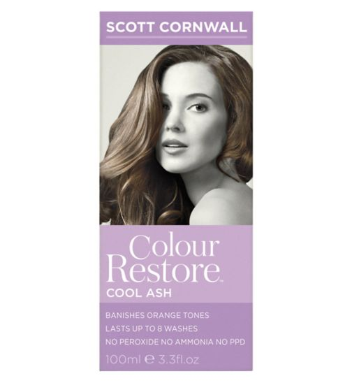 Scott Cornwall Colour Restore Cool Ash Hair Toner 100ml