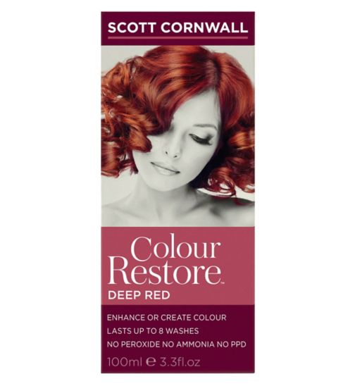 Scott Cornwall Colour Restore Iced Platinum  Dark Brown Hairs
