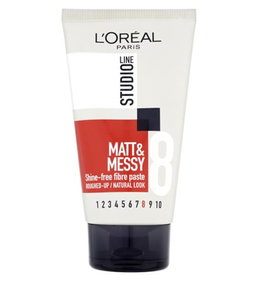 L'Oréal Studio Line Matt & Messy Shine-Free Fibre Paste 150ml