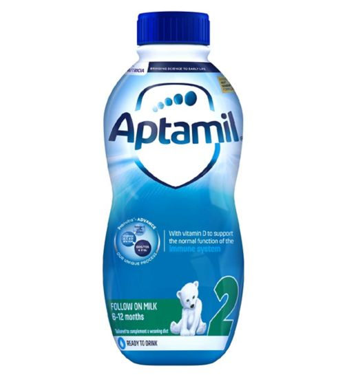 Aptamil with Pronutra+ Follow On Milk Stage 2 6-12 Months 1 Litre