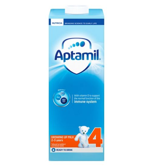 Aptamil Growing Up Milk 4 2-3 Years 1 Litre