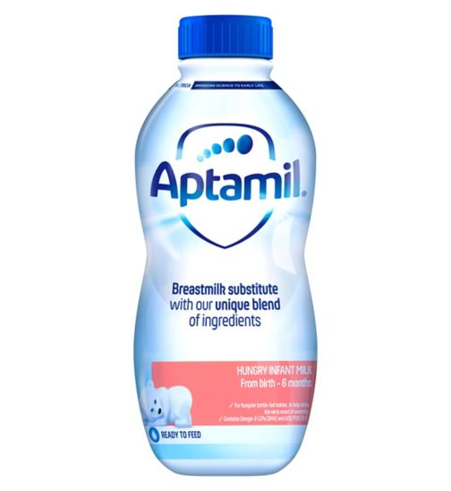 Aptamil Hungry Milk From Birth 1 Litre