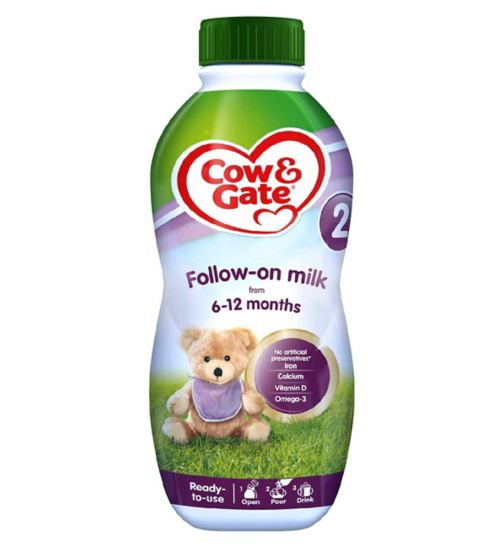 Cow & Gate 2 Follow-On Milk from 6-12 Months 1L