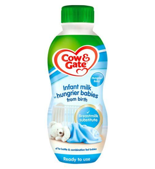 Cow & Gate Infant Milk for Hungrier Babies from Newborn 1 Litre
