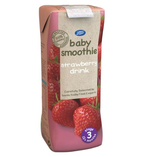 Boots 12m+ Strawberry Smoothie 250ml