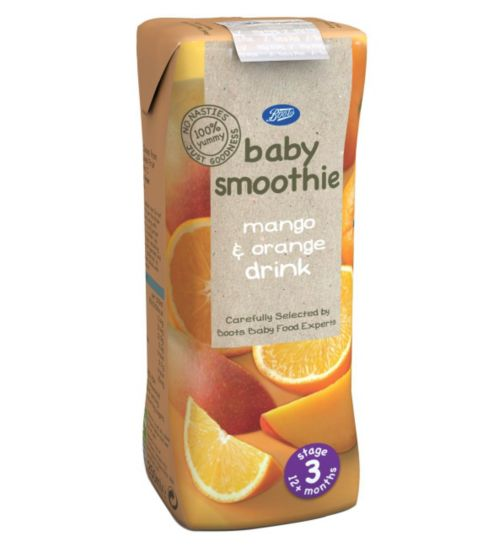 Boots 12m+ Mango & Orange Smoothie 250ml