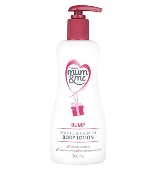 Cussons Mum & Me Bump Soothing Body Lotion 300ml