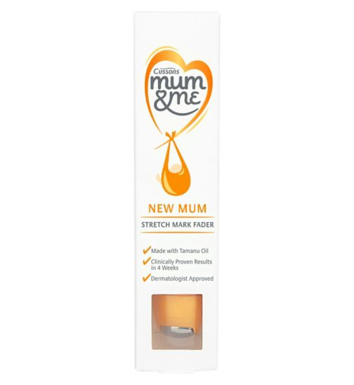 Cussons Mum & Me New Mum Stretch Mark Fader 70ml