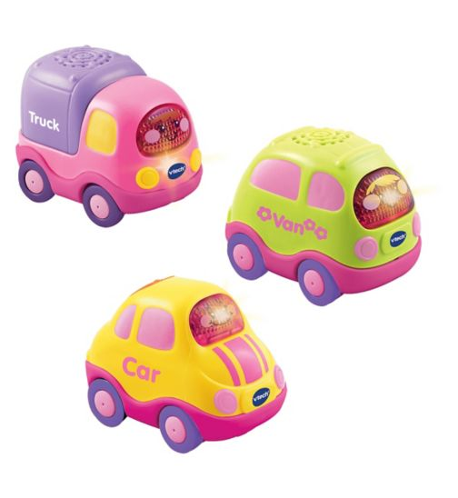 Vtech Toot Toot Drivers Everyday Vehicles 3 Car Pack - Pink