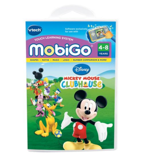 VTech MobiGo Software Mickey Mouse Club House
