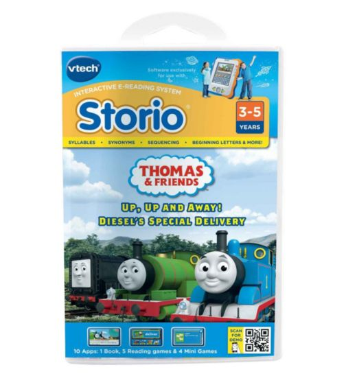 Vtech Storio Storybook Thomas the Tank Engine and Friends