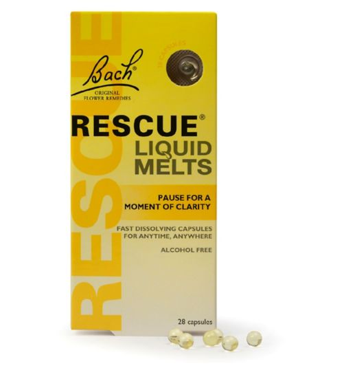 Bach Rescue Remedy Liquid Melts 28 capsules