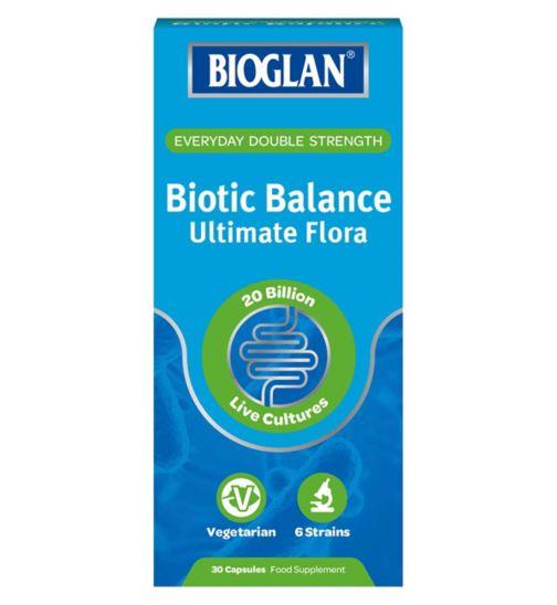 Bioglan balance ultimate flora 30 capsules
