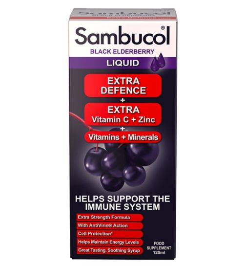 Sambucol Extra Defence - 120ml