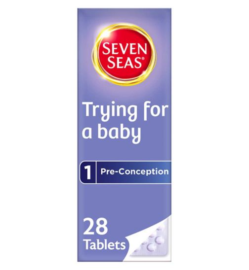 Seven Seas Trying For A Baby Vitamins - 28 one-a-day pills