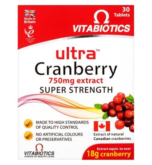 Ultra Cranberry - 30 tablets