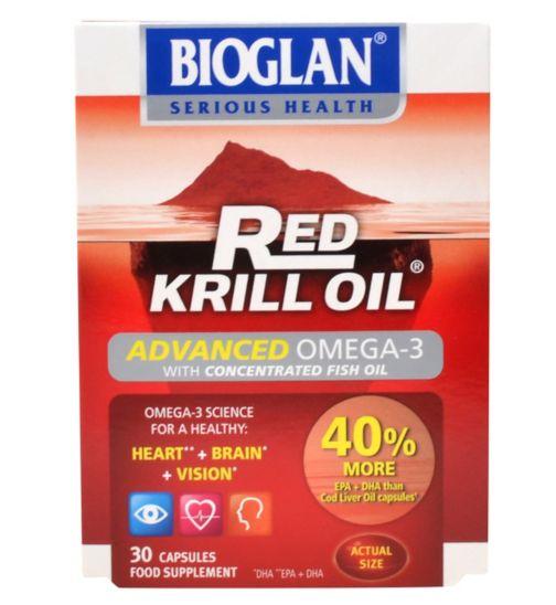Bioglan Red Krill Oil - 30 capsules