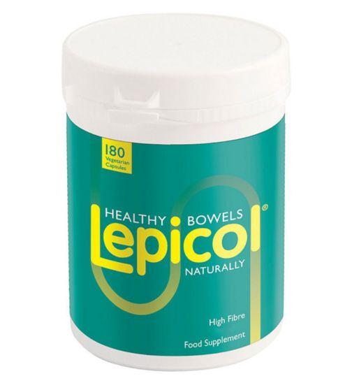 Lepicol Vegetarian Capsules - 180 capsules