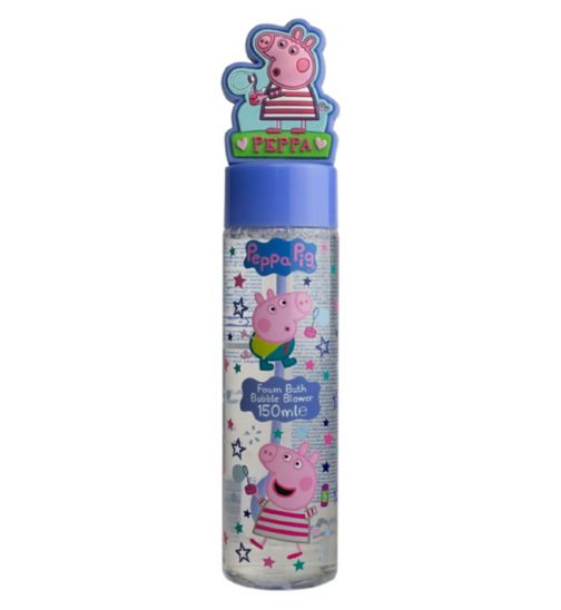 Peppa Pig Foam Bath Bubble Blower