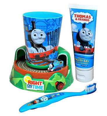 Thomas And Friends Train Timer Toothbrush Gift Set