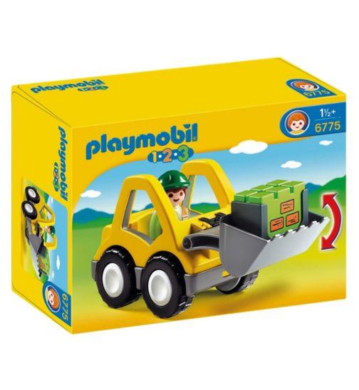 Playmobil 1.2.3 Front Loader