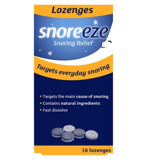 Snoreeze Lozenges - 16 lozenges