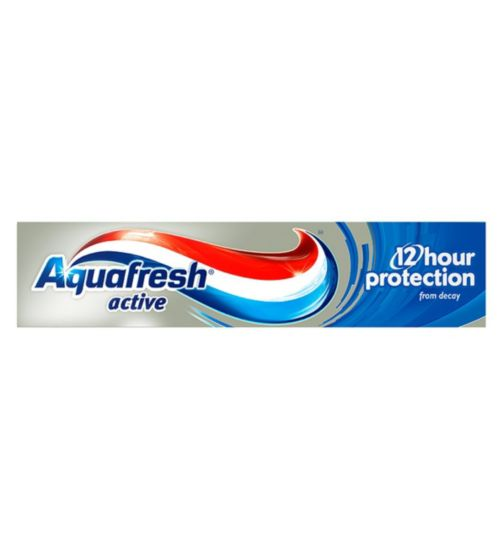 Aquafresh Active 12 Hour Protection Fluoride Toothpaste 100ml