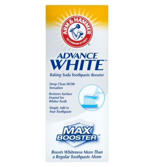 Arm & Hammer Advance White Baking Soda Toothpaste Booster 50ml