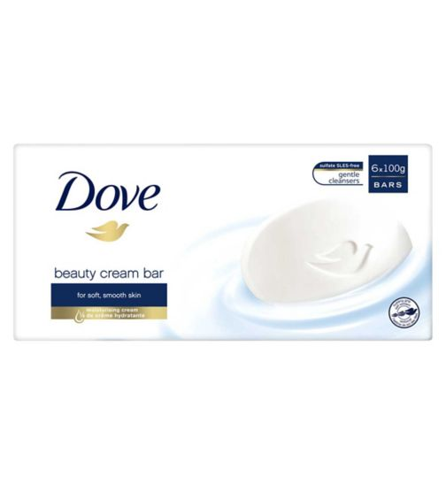 Dove Original Beauty Cream Bar 6 x 100g