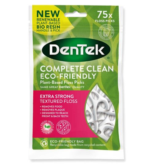 DenTek Complete Clean Y Floss Picks  - 75 Picks