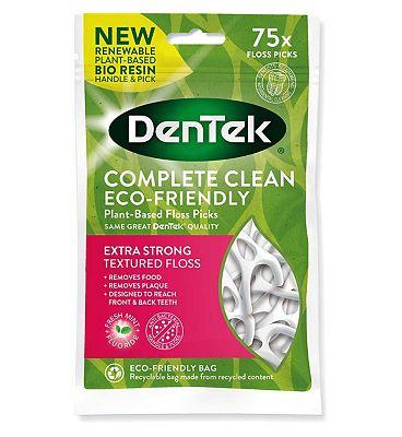 DenTek Complete Clean Y Floss Picks - 75 Picks