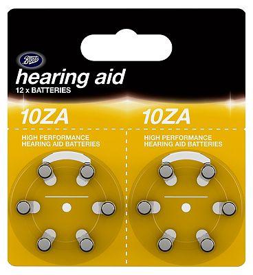 Boots 10ZA Hearing Aid Battery  12 Batteries