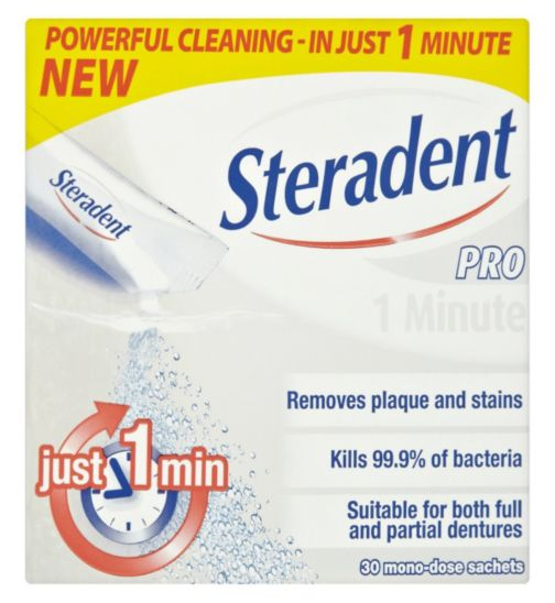Steradent Pro 1 Minute